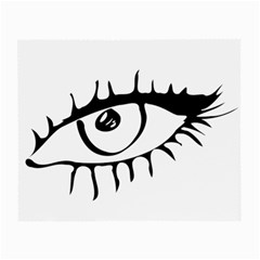 Drawn Eye Transparent Monster Big Small Glasses Cloth (2 Side)