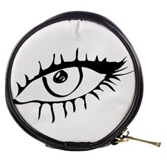 Drawn Eye Transparent Monster Big Mini Makeup Bags
