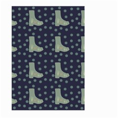 Blue Boots Large Garden Flag (two Sides)