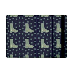 Blue Boots Apple Ipad Mini Flip Case