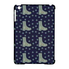 Blue Boots Apple Ipad Mini Hardshell Case (compatible With Smart Cover)