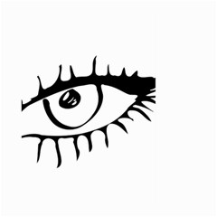 Drawn Eye Transparent Monster Big Large Garden Flag (two Sides)