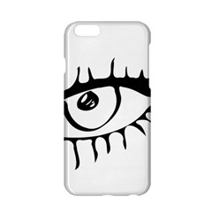 Drawn Eye Transparent Monster Big Apple Iphone 6/6s Hardshell Case
