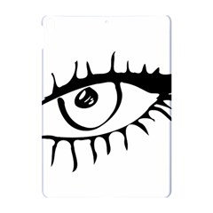 Drawn Eye Transparent Monster Big Apple Ipad Pro 10 5   Hardshell Case
