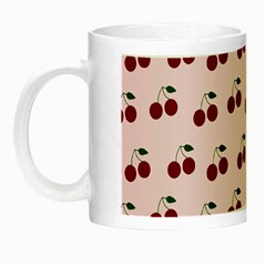 Pink Cherries Night Luminous Mugs