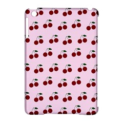 Pink Cherries Apple Ipad Mini Hardshell Case (compatible With Smart Cover)