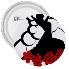 Flamenco Dancer 3  Buttons
