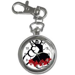 Flamenco Dancer Key Chain Watches