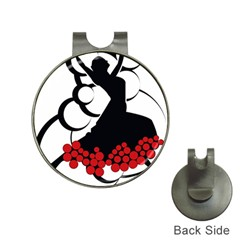 Flamenco Dancer Hat Clips With Golf Markers