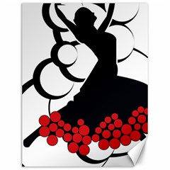 Flamenco Dancer Canvas 12  X 16
