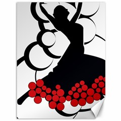 Flamenco Dancer Canvas 36  X 48