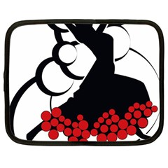 Flamenco Dancer Netbook Case (large)