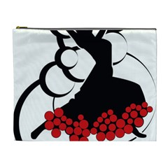Flamenco Dancer Cosmetic Bag (xl)