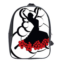 Flamenco Dancer School Bag (large)