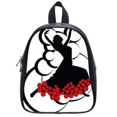 Flamenco Dancer School Bag (small)