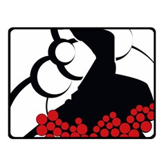 Flamenco Dancer Fleece Blanket (small)