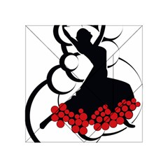 Flamenco Dancer Acrylic Tangram Puzzle (4  X 4 )