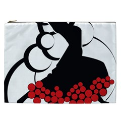 Flamenco Dancer Cosmetic Bag (xxl)