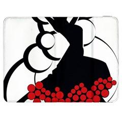 Flamenco Dancer Samsung Galaxy Tab 7  P1000 Flip Case