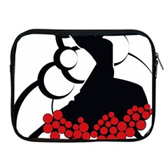Flamenco Dancer Apple Ipad 2/3/4 Zipper Cases