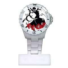 Flamenco Dancer Plastic Nurses Watch
