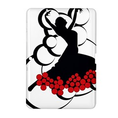 Flamenco Dancer Samsung Galaxy Tab 2 (10 1 ) P5100 Hardshell Case