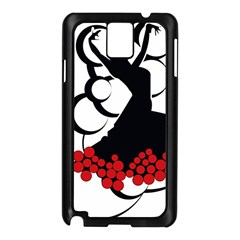 Flamenco Dancer Samsung Galaxy Note 3 N9005 Case (black)