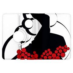 Flamenco Dancer Kindle Fire Hdx Flip 360 Case