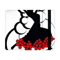 Flamenco Dancer Samsung Galaxy Tab Pro 8 4  Flip Case