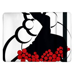 Flamenco Dancer Samsung Galaxy Tab Pro 12 2  Flip Case