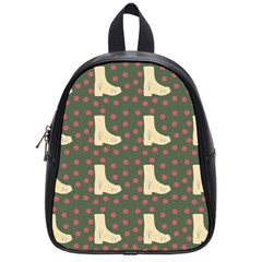 Green Boot School Bag (small)
