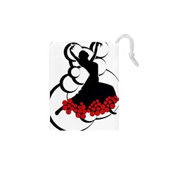 Flamenco Dancer Drawstring Pouches (xs)