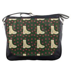 Green Boot Messenger Bags