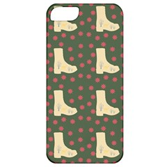 Green Boot Apple Iphone 5 Classic Hardshell Case