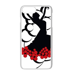 Flamenco Dancer Apple Iphone 7 Plus Seamless Case (white)