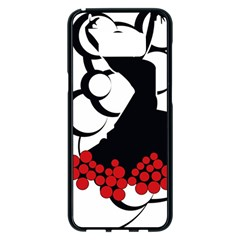 Flamenco Dancer Samsung Galaxy S8 Plus Black Seamless Case