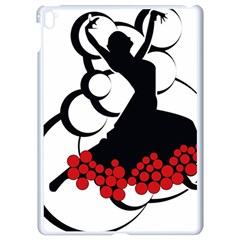 Flamenco Dancer Apple Ipad Pro 9 7   White Seamless Case