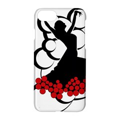 Flamenco Dancer Apple Iphone 8 Hardshell Case
