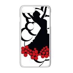 Flamenco Dancer Apple Iphone 8 Plus Seamless Case (white)