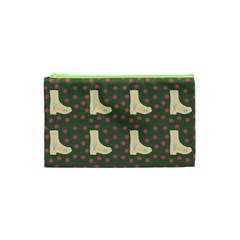 Green Boot Cosmetic Bag (xs)