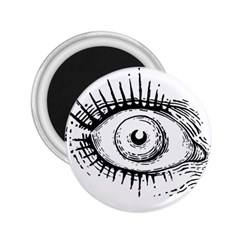 Big Eye Monster 2 25  Magnets