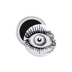 Big Eye Monster 1 75  Magnets