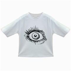 Big Eye Monster Infant/toddler T Shirts