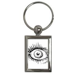 Big Eye Monster Key Chains (rectangle)