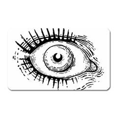 Big Eye Monster Magnet (rectangular)
