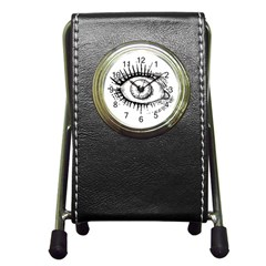 Big Eye Monster Pen Holder Desk Clocks