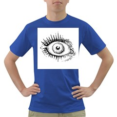 Big Eye Monster Dark T Shirt