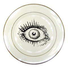 Big Eye Monster Porcelain Plates