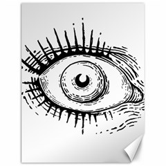 Big Eye Monster Canvas 12  X 16