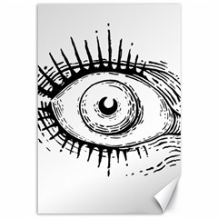 Big Eye Monster Canvas 12  X 18